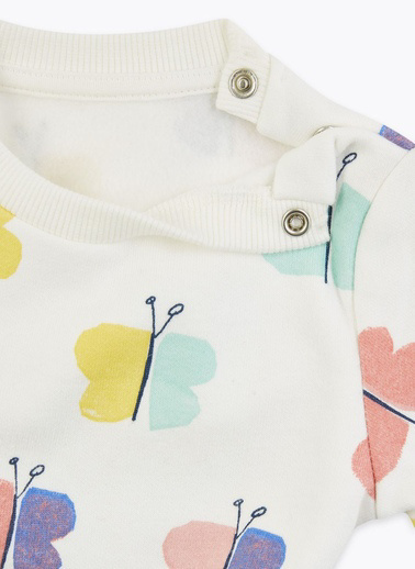 Marks & Spencer Sweatshirt Beyaz